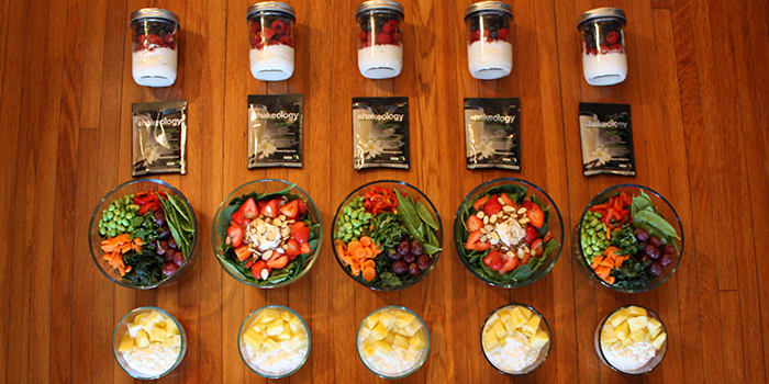 This Healthy 1200-1500 Calorie Vegetarian Meal Prep Is a Must See