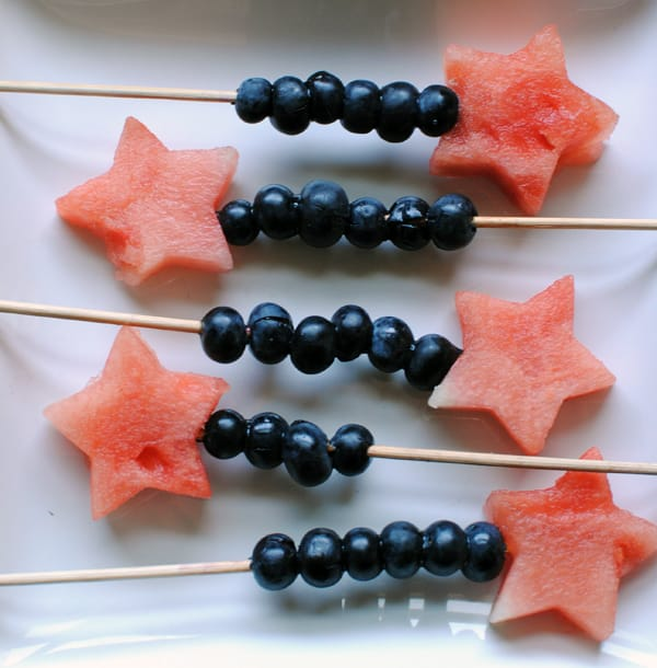 Watermelon and Blueberry Skewers | BeachbodyBlog.com