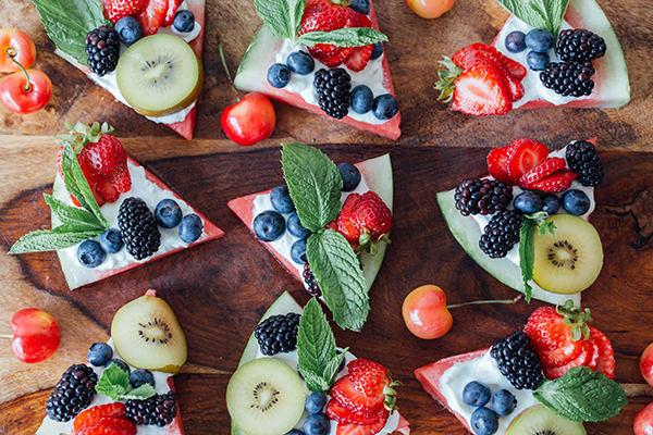 Watermelon Fruit Pizza | BeachbodyBlog.com