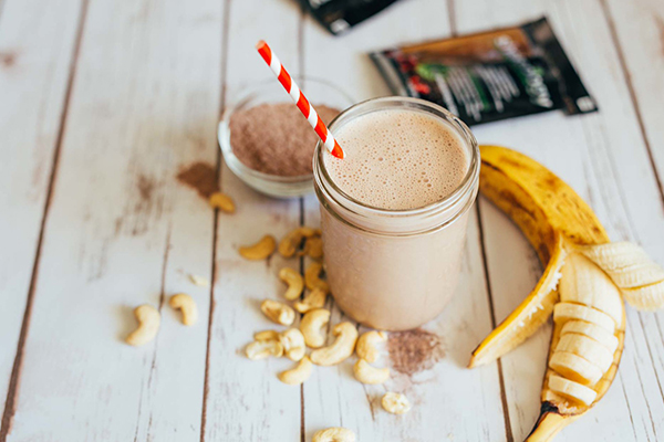Shakeology with Caffe Latte and banana