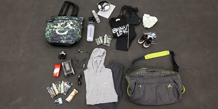 See What's in a Super Trainer's Gym Bag