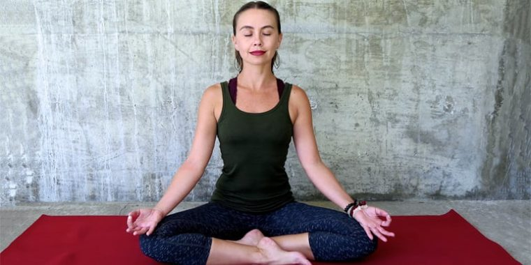 Yoga Calms Anxiety, Comforts Depression | BeachbodyBlog.com yoga moves for anxiety