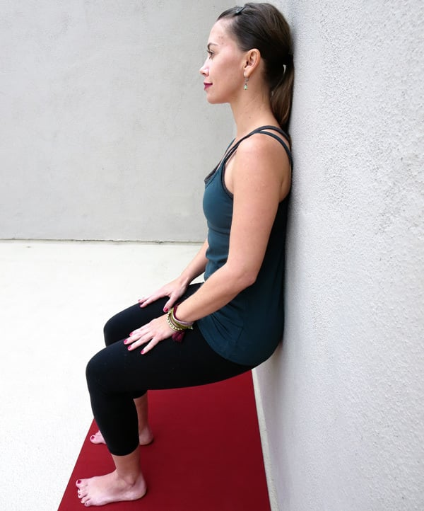 Yoga for the Knees Chair Pose