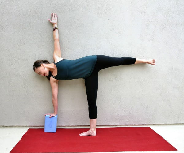 Yoga for the Knees Half Moon Pose