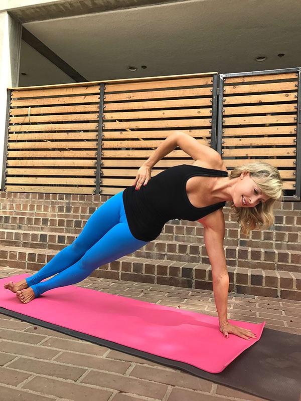 Yoga-to-Keep-You-Sane-Through-the-Holidays-Plank