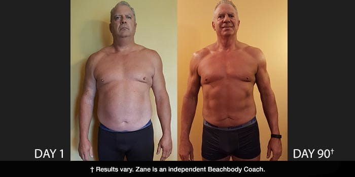 Body Beast Results: Zane Lost 57 Pounds in 90 Days!