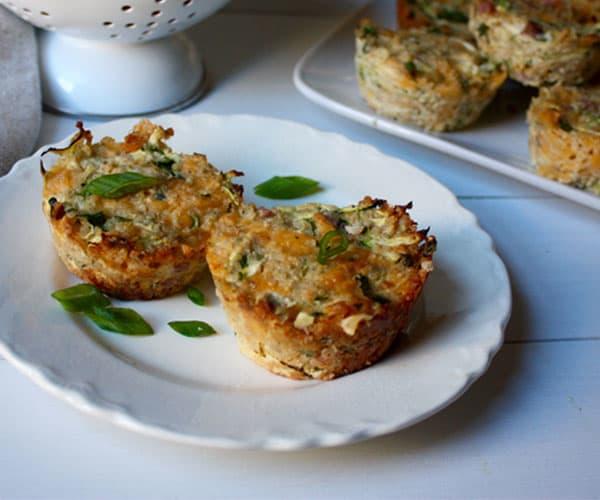 Zucchini, Ham, and Cheese Quinoa Cups | BeachbodyBlog.com