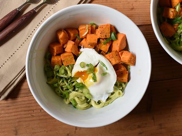 High fiber recipe for breakfast bowl