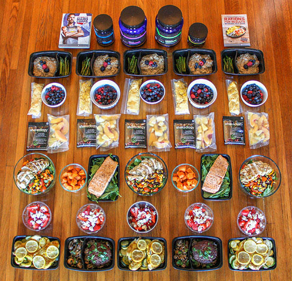 22 Minute Hard Corps Meal Prep for the 2,100–2,400 Calorie Level | BeachbodyBlog.com