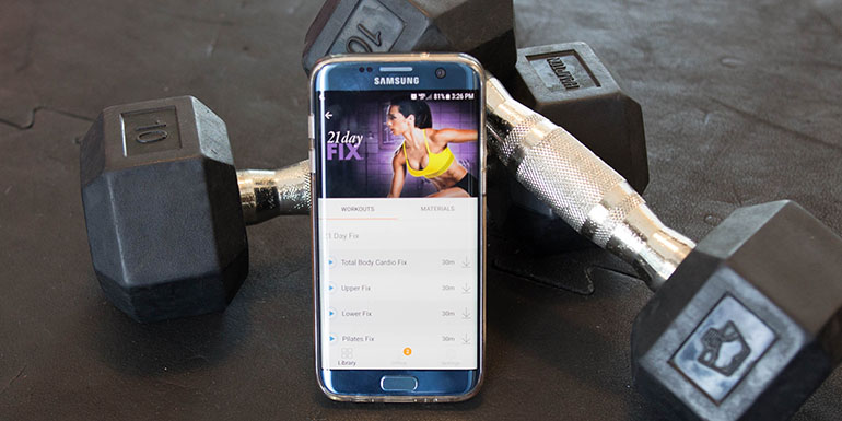 Features of the Beachbody On Demand Android App