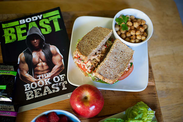 Body Beast lunch