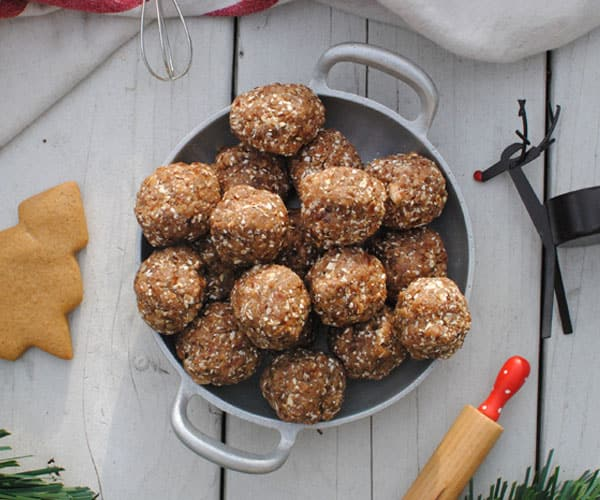 Gingerbread Balls Recipe | BeachbodyBlog.com