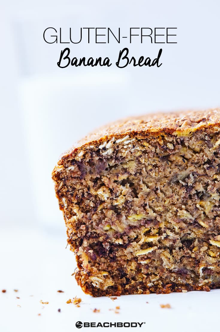 This Gluten-Free Banana Bread is moist, perfectly sweet, and spiced just right. It's the perfect treat to grab when cravings strike.
