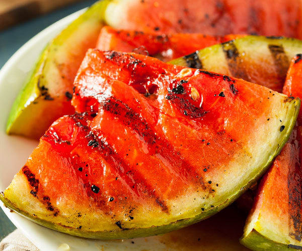 Watermelon Recipes: grilled watermelon wedges