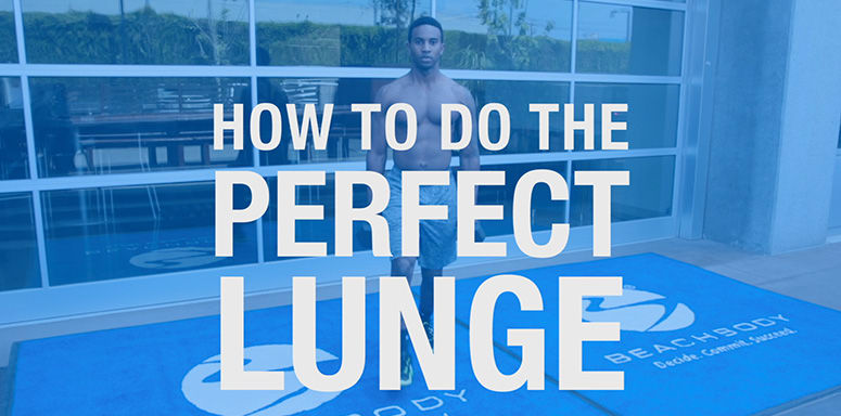 How to Do the Perfect Forward Lunge