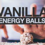 Vanilla energy balls