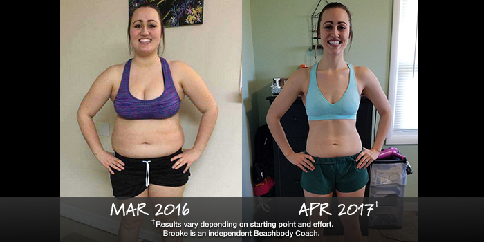 Beachbody Results: Brooke Lost 73 Pounds and Won $1,000!