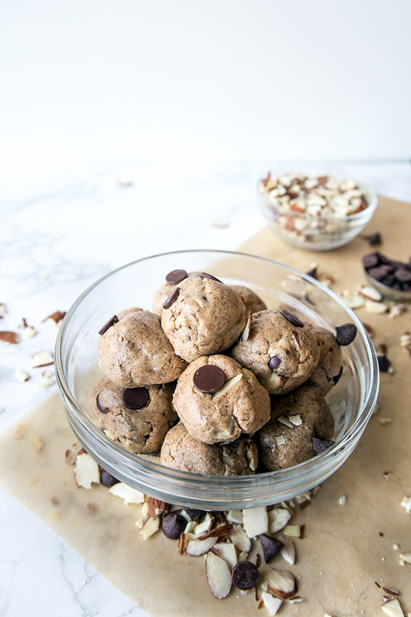 Cookie Dough Protein Balls