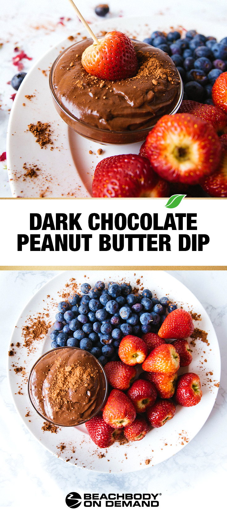 Dark Chocolate Peanut Butter Dip Recipe