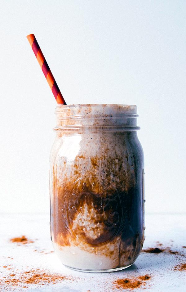 Iced Almond Milk Shakeology