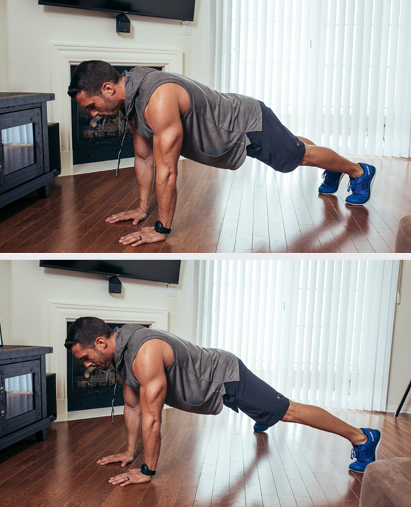The Best Core Exercises for Abs - Plank Jack