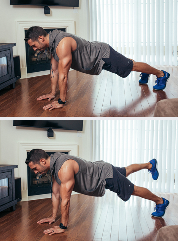 The Best Core Exercises for Abs - Single Leg Plank