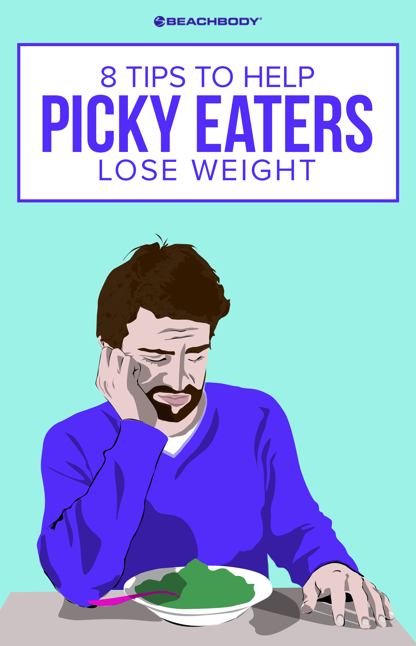 Picky eaters can lose weight too! If you're struggling with how to lose weight because you don't like a lot of healthy food options, check out these tips to help you succeed with your health and fitness goals.
