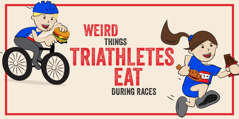 6 Weird Things Triathletes Eat During Races