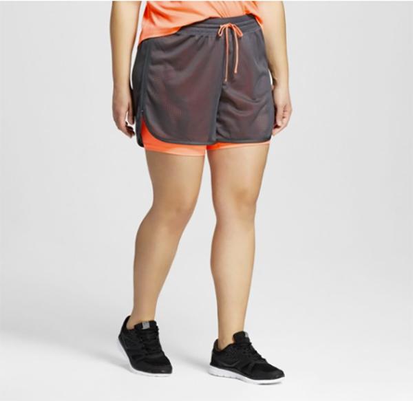 Women's-Plus-Size-Layered-Shorts---C9-Champion