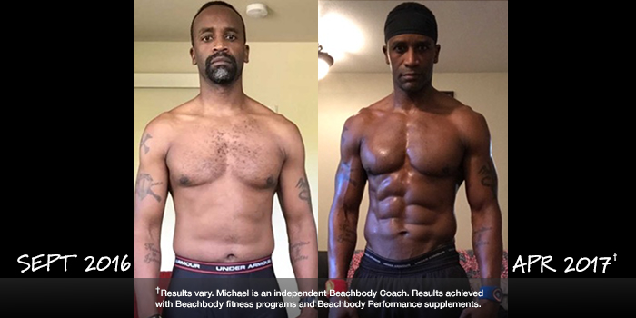 Beachbody Results: Michael Got Shredded and Won $1,000!