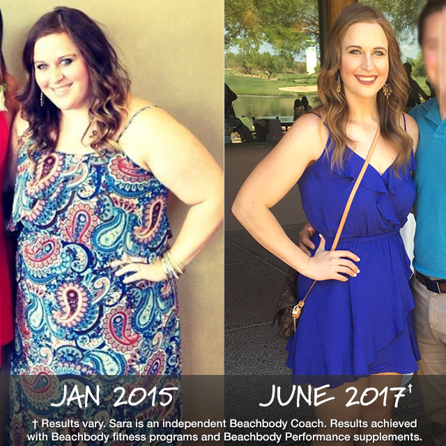 Beachbody Results: Sara Lost 105 Pounds Using Various Programs on BOD and Won $27,500!