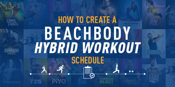 How to Create a Hybrid Workout Schedule | The Beachbody Blog