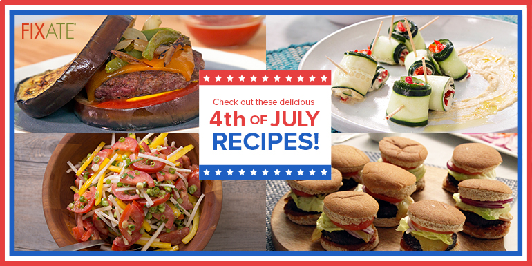 5 Healthy 4th of July Recipes from FIXATE