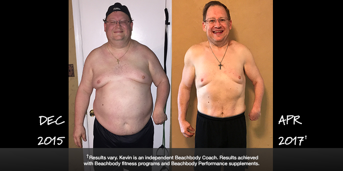 Beachbody Results: Kevin Overcame the Challenges of Cerebral Palsy to Lose 103 Pounds!