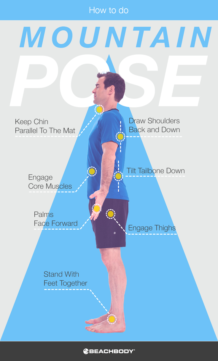 How to Do Mountain Pose