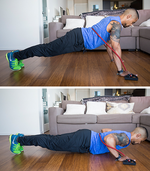 How to Get Better at Push-Ups - Banded