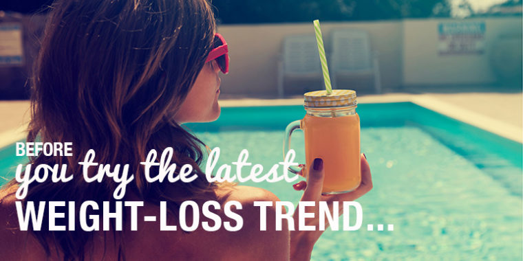 The Truth Behind The Latest Weight-Loss Trends