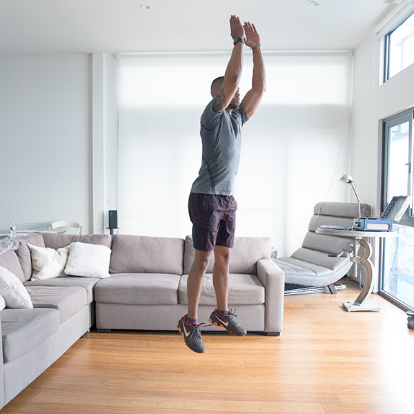 5 of the Best Leg Exercises That Aren't Leg Press squat jump