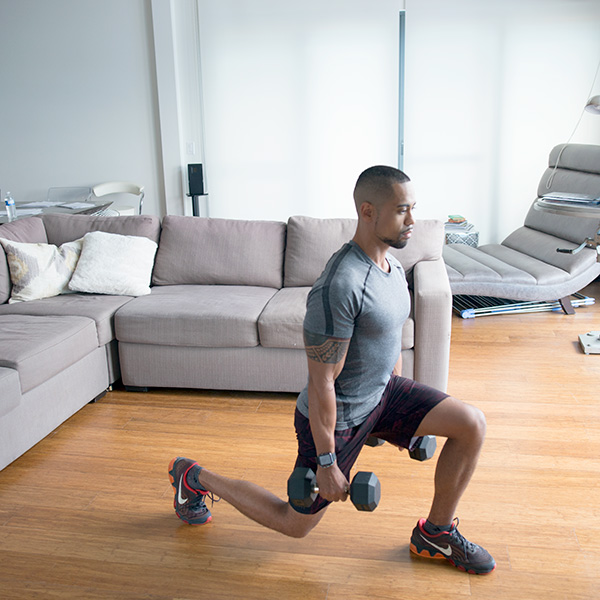 5 of the Best Leg Exercises That Aren't Leg Press forward lunge