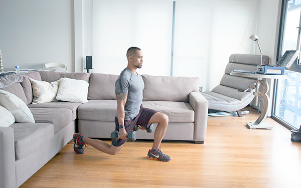 5 of the Best Leg Exercises That Aren't Leg Press walking lunge