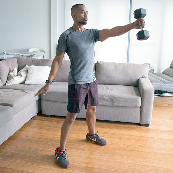 5 of the Best Leg Exercises That Aren't Leg Press single arm dumbbell swing