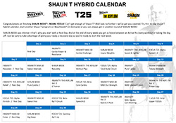 How to Create a Beachbody Hybrid Workout Schedule