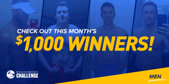 Beachbody Results: Meet the June $1,000 Men's Beachbody Challenge Winners