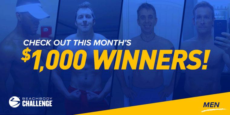Beachbody Results: Meet the June $1,000 Men's Beachbody Challenge Winners