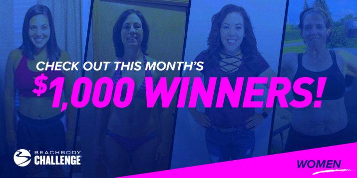 These Four Ladies Got Healthy and Won $1,000 in the Beachbody Challenge!
