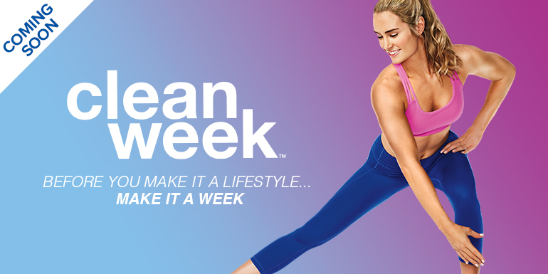 Clean Week: Start a Healthy Lifestyle in 7 Days — Coming this October