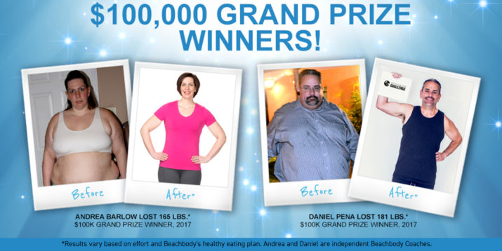$100,000 Winners of the Beachbody Challenge 2017