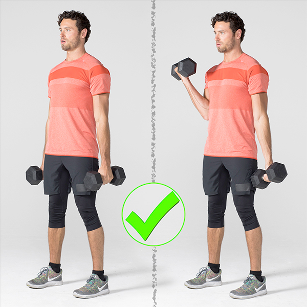 7 Exercises People Usually Do Wrong And How to Correct Them - Bicep Curl