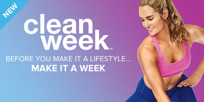 Clean Week: Start a Healthy Lifestyle in 7 Days