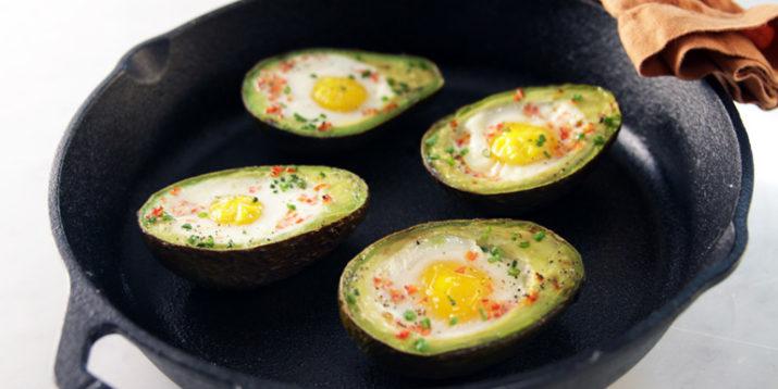 Paleo Baked Egg in Avocado